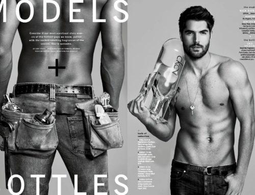 Models with Bottles